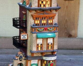 Dept 56 Christmas in the City, The Doctor's Office,