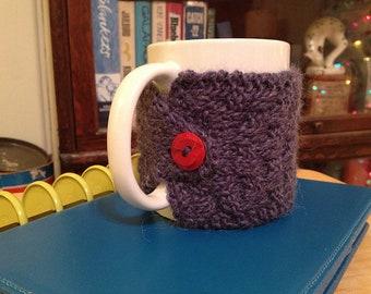 Swedish Check Cup Cozy knitting pattern