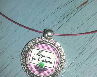 Locket necklace special mothers fěte