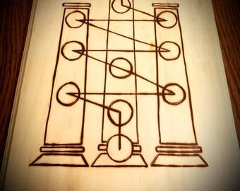 Pillars of the Tree of Life Plaque