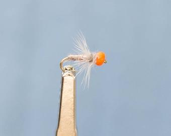 3 Adams Grey Bey Nymphs, #16, Fly Fishing Flies, Nymph Flies, Trout Flies, Wet Flies