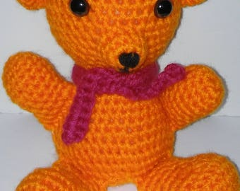Orange You Glad to See Me Teddy Bear