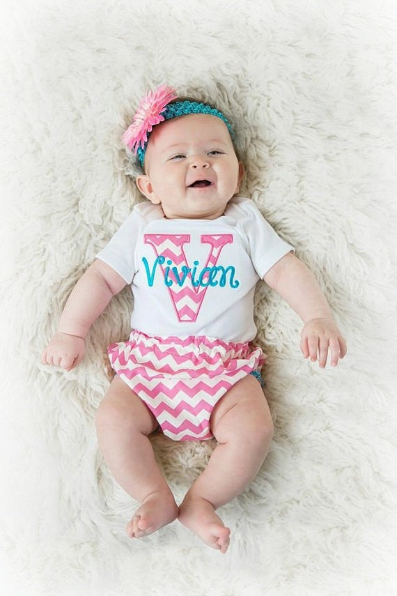 baby girl clothes newborn girl take home outfit chevron baby