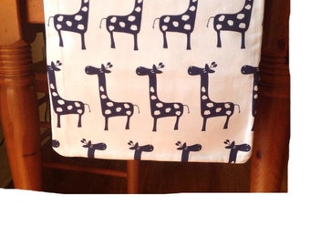 Blue and White Table Runner    14x68