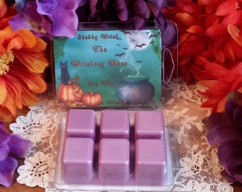 Witching Hour Halloween Tarts, Soy Tarts, Soy Wax, Halloween Melts