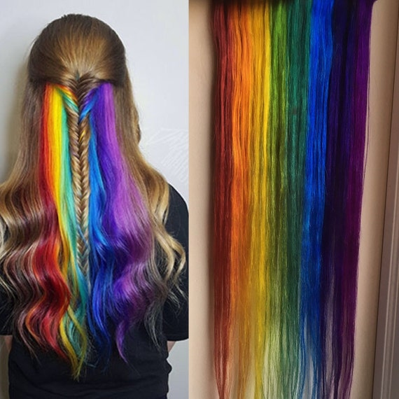 Underlights Peekaboo Highlights Hidden Rainbow Hair Ocean