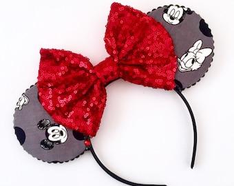 The Sweethearts - Handmade Mouse Ears Headband