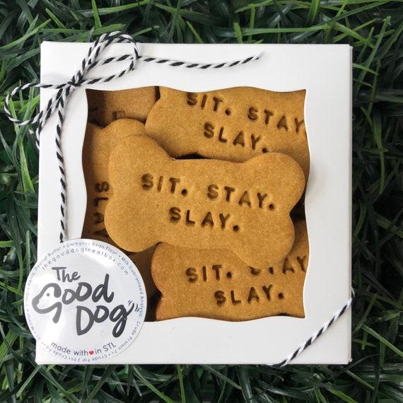 Sit. Stay. Slay. Treat Box