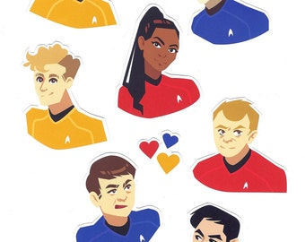 Star Trek Sticker Set