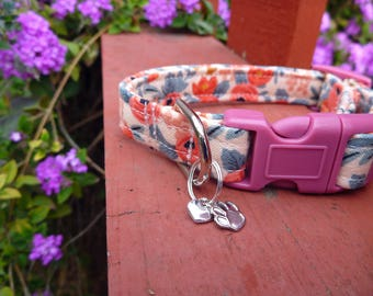 """Add an Adjustable Matching (Non Canvas) BFF Bracelet to My Dog Collar Order - Best Friend Bracelet (1/2""""or 5/8"""" Wide)"""