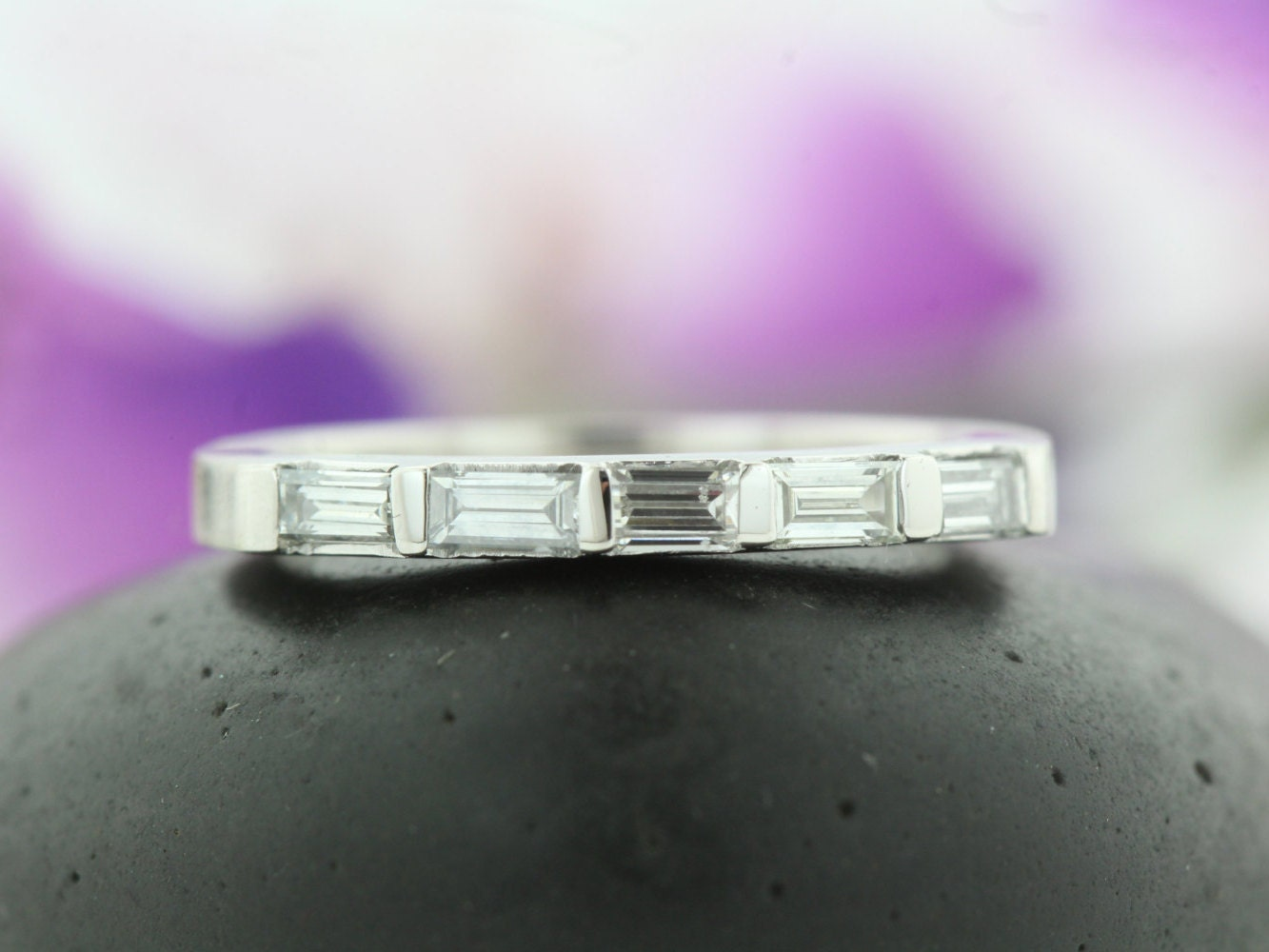 raine bands product turgeon eternity diamond platinum baguette band wedding