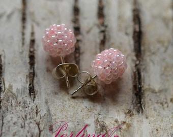Bubbly Bead Earstuds
