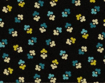 1 Yard CHICOPEE Duet Dot PWDS028 Green Blue Black Denyse Schmidt Free Spirit Quilting Sewing Fabric