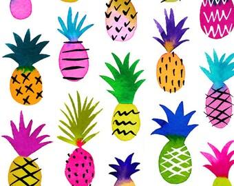 PRE ORDER l Rainbow Pineapples