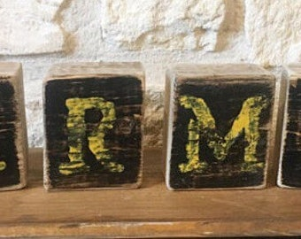 ARMY Rustic Shelf Sitter-ARMY Office Decor-ARMY Home Decor-Military Decor