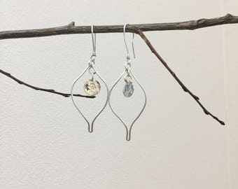Petal Dangles with Mokume Accent