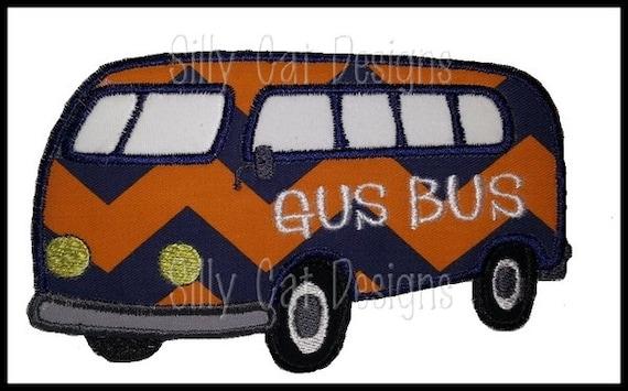 Gus Bus Applique Design