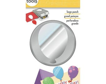 BALLOON Large Slim Profile Paper Punch - EK Success
