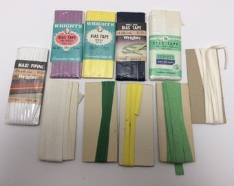 Lot of BIAS Tape and Piping Vintage