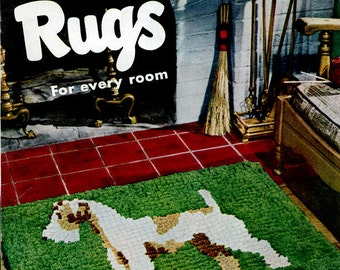 New Rugs For Every Room Pattern Book Braided Crochet Tufted Patterns Copy PDF Instant Download