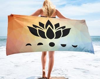 Sunrise Lotus Moons Towel