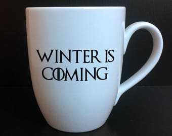 Game Of Thrones Winter Is Coming Ceramic Mug