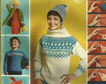 1967 McCalls Knitting Magazine Book 3