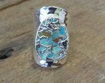 Webbed Turquoise Ring