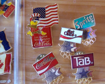 1984 olympic games los angeles pins