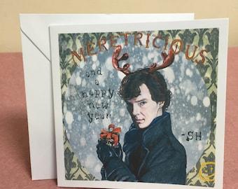 Sherlock Christmas Card
