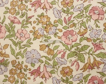 SALE - Liberty tana lawn printed in Japan - Mamie - Pink mix