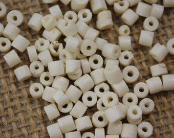 Vintage Bone Heishi Bead (100 Pieces)