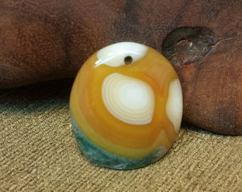 Sale #EarthDay ~ Sunny Skies Eggs Striped Agate Druzy Oval