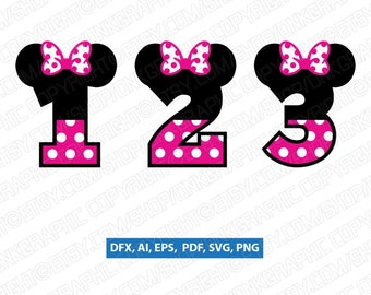 Minnie Mouse Number
