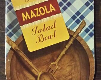 Vintage 1939 Mazola recipe booklet