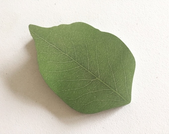 Green Leaf Sticky Notes, Nature Zen Post It Notes, Reminder Notes, Memo Pad Stickers, Novelty Stationery, Planner Supplies