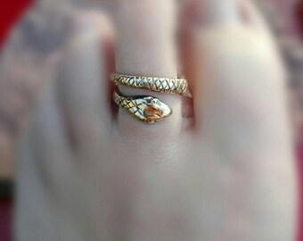 Snake toe ring, women, girls, beach, seaside, boho,