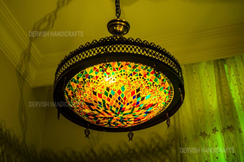 Mosaic turkish lampsunique hanging lamphanging zoom arubaitofo Image collections
