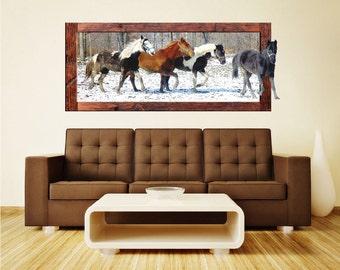 Horse Wall Decals, Horse Wall Murals, Horses Wall Paper, Horse Decals, Horse