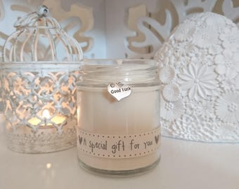 Good Luck (a special gift for you) Scented Soy Candle Gift