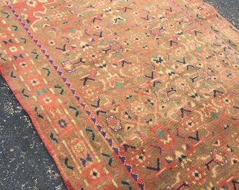 Persian Antique Runner Rug 3.4 x 9.10