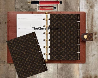 12 Month Tab Set & 2018 Year at a glance dashboard for your Louis Vuitton Agenda gm mm pm Planner Dashboards
