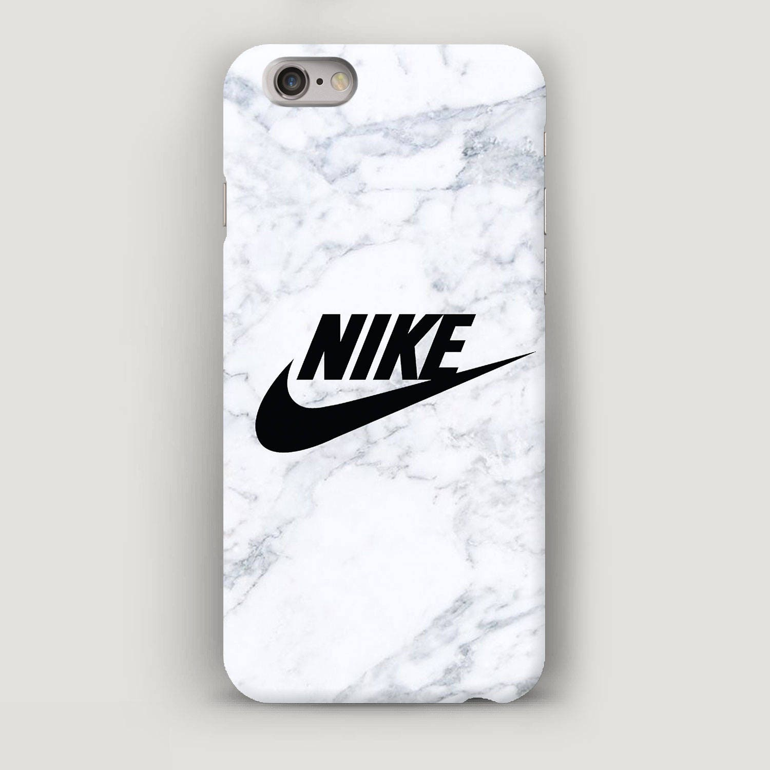 wei marmor handy tasche nike iphone h lle fall von apple. Black Bedroom Furniture Sets. Home Design Ideas