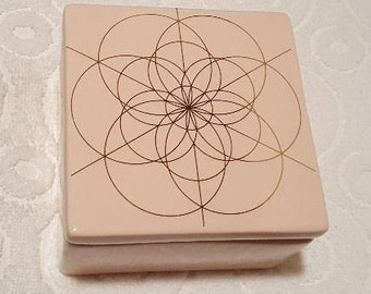 No. 126 ~ Seed of Life ~ Distant Karuna Angel Reiki© Prayer Box