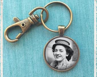 Porte clé Photo personnalisé, porte clé Photo personnalisé, cadeau d'anniversaire, cadeau de longue Distance, cadeau de mariage de faveur, porte-clé, porte-clé