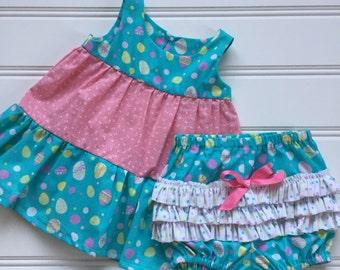 Baby Easter Dress, Girl Easter Dress, Toddler Easter Dress, Baby Girl Easter Outfit, Baby Girl Dress, Little Girl Dress, Ready to Ship