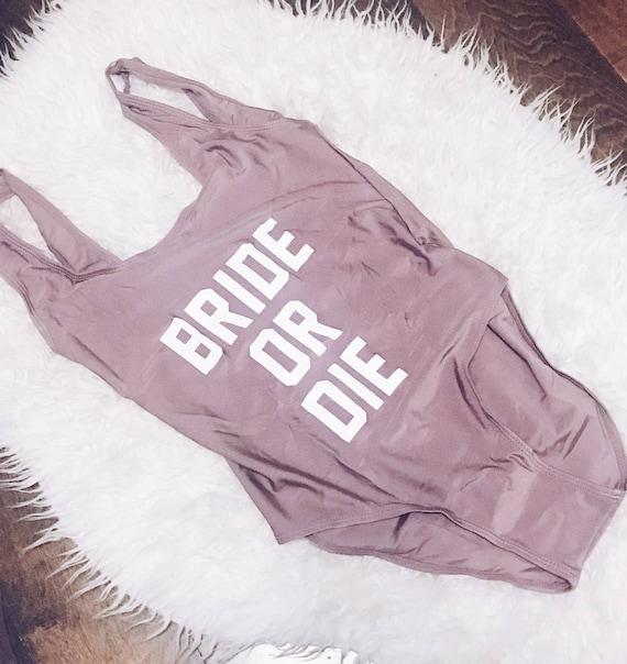 Bride or Die Swimsuit   Bridesmaid Swimsuit   Bride Swimsuit