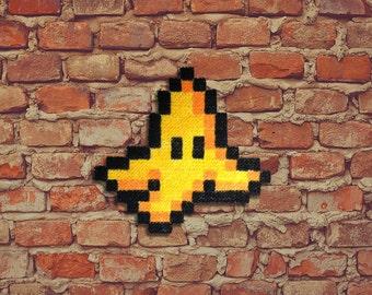 Banana peel! -Carpet Pixel Art - Hand painted