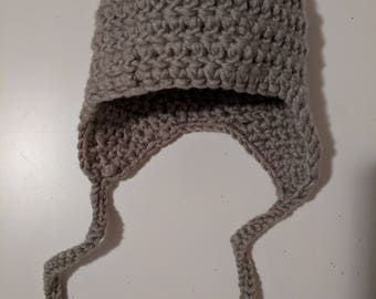 Crochet Hat with Ear Flaps