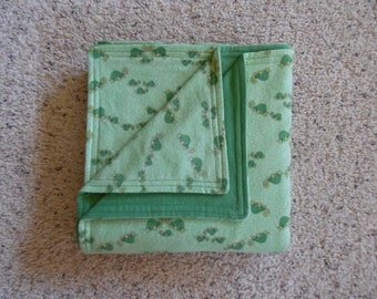 Turtles and Green Baby/Toddler Blanket